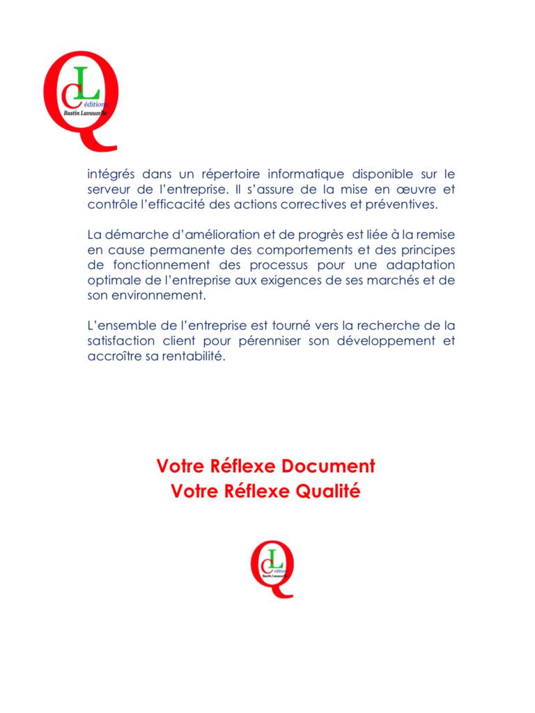 Charte Qualité - Edition et print Management